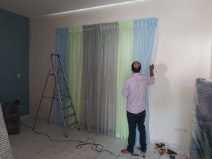 Curtains Shifting